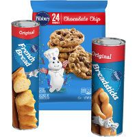 Print a coupon for $1 off any three Pillsbury Refrigerated Baked Goods