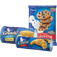Save $1 on any three Pillsbury Refrigerated Baked Goods