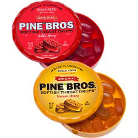 Save $1 on any two pucks or bags of Pine Bros. Softish Throat Drops