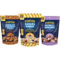 Print a coupon for $1 off two bags of Planters Dessert-Inspired Mixes
