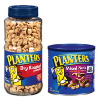 Save $1 on two Planters products