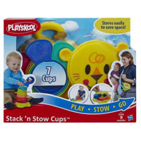 Save $1 on one Playskool Stack 'n Stow Cups or Roll 'n Gears Car