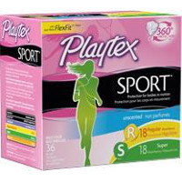 Print a coupon for $1 off Playtex Sport Compact Tampons