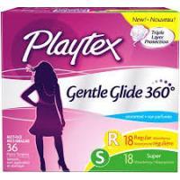 Save $2 on Playtex Gentle Glide Tampons