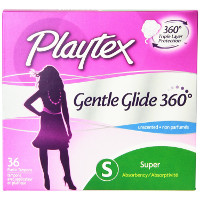 Print a coupon for $1 off Playtex Gentle Glide Tampons