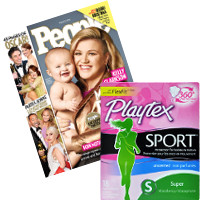 Save $2 when you buy People Magazine and any Playtex Sport Product