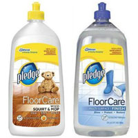 Save $1.50 on a Pledge Floor care product