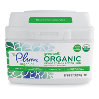 Print a coupon for $5 off one Plum Organics Grow Well Infant Formula