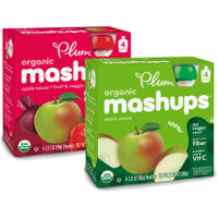 Save $1 on any two packages of Plum Organics Kids Mashups Packs