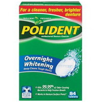 Print a coupon for $2 off Polident Tablets, 84ct or larger