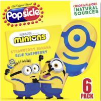 Print a coupon for $1.50 off a single box of Spider-Man or Minions Character Popsicle Fruit Twisters