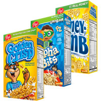 Print a coupon for $1 off any two boxes of Post Golden Crisp, Alpha-Bits or Honeycomb Cereal