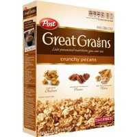 Print a coupon for $0.75 off one box of Post Great Grains Cereal