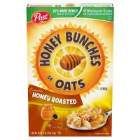 Print a coupon for $1 off any two Post Honey Bunches of Oats Cereals