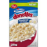 Print a coupon for $0.50 off one box of Post Hostess Honey Bun or Post Hostess Donettes cereal