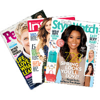 Save $1 on one issue of People StyleWatch, People, InStyle, Sunset or Real Simple Magazine