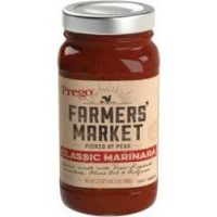 Print a coupon for $0.50  off any Prego Farmers' Market Sauce