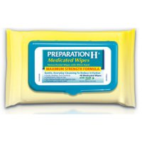 Save $1.50 on Preparation H Medicated Wipes for Women product