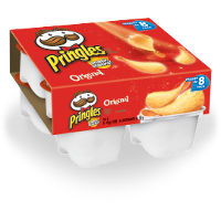 Print a coupon for $1 off a pack of Pringles Snack Stack