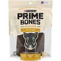 Print a coupon for $1.50 off one package of Purina Prime Bones Dog Chews