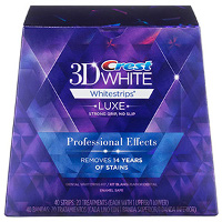 Print a coupon for $5 off Crest 3DWhite Glamorous White, 1 Hour Express, Prof Effects or Supreme Flexfit Whitestrips