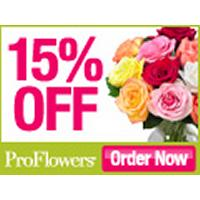 Get 15% Off Flowers + Gifts at ProFlowers