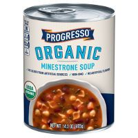 Print a coupon for $0.75 off one can of Progresso Organic Soup