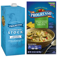Print a coupon for $0.75 off any Progresso Broth or Stock product