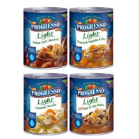 Print a coupon for $1 off four cans of Progresso Soup