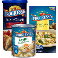 Save $1 on any three Progresso Brand Products