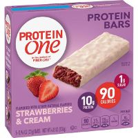 Print a coupon for $0.50 off two boxes of Protein One Snack product