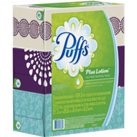 Print a coupon for $0.50 off Puffs Facial Tissue, Multipack or 72 sheets or larger