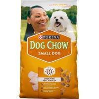 Print a coupon for $1.50 off a bag of Purina Dog Chow Small Dog Dry Dog Food