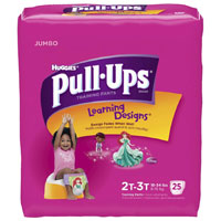Save $2 on a pack of Huggies Pull-Ups Training Pants