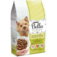 Print a coupon for $3 off one 3 LB bag or larger of Purina Bella Dry Dog Food