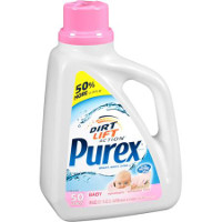Save $1 on one bottle of Purex Baby Liquid Detergent, 75oz or larger