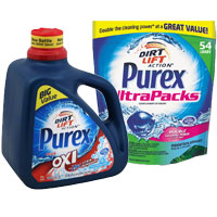 Save $2 on  any two Purex Detergents