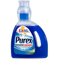 Save $.50 on one bottle of New Purex PowerShot Laundry Detergent