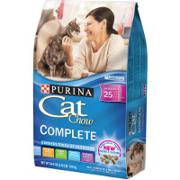 Print a coupon for $1.05 off Purina Cat Chow cat food, 3.15lb or larger