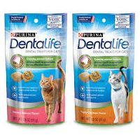 Print a coupon for $1 off Purina DentaLife Cat Treats