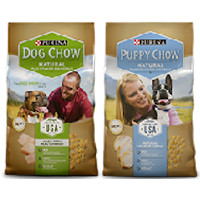 Print a coupon for $2 off one bag of Purina Dog Chow or Puppy Chow Natural Dog Food