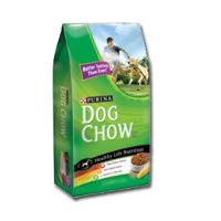 Print a coupon for $3 off a bag of Purina Dog Chow Dry Dog Food, 15lbs. or larger