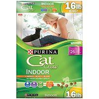Print a coupon for $1 off a 3.15lb. bag or larger of Purina Cat Chow brand dry cat food