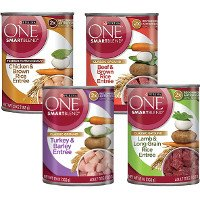 Print a coupon for $1 off four cans of Purina Beyond Wet Dog Food