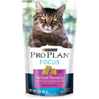 Save $2 on one bag of Purina Pro Plan Cat Snacks or Chews