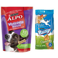 Save $2 on two packages of Purina Busy Bone or Alpo Brand Dog Snacks