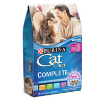 Save $1.05 on one 3.15lb or larger bag of Purina Cat Chow dry cat food