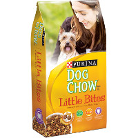 Save $1 on one bag of Purina Dog Chow Brand Little Bites Dog Food, 4lbs or larger