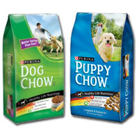 BOGO - Buy one bag of Purina Dog Chow Dog Food or Purina Puppy Chow Puppy Food, get one free