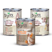 Print a coupon for $1 off 3 Purina Beyond Wet Dog Food Products
